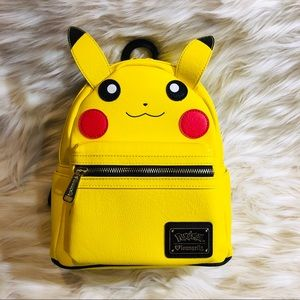 NWT Pokémon loungefly pikachu mini backpack